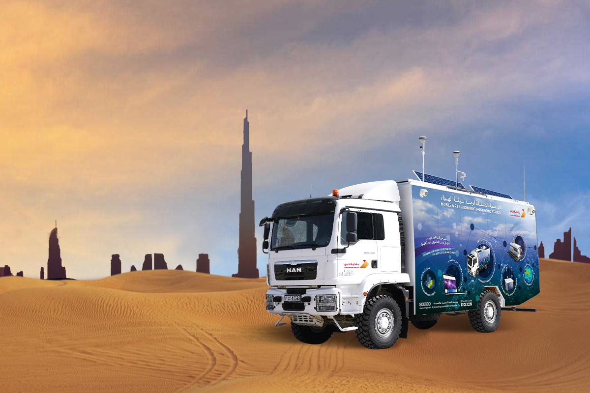 Dubai Air Environment Monitoring Mobile Station